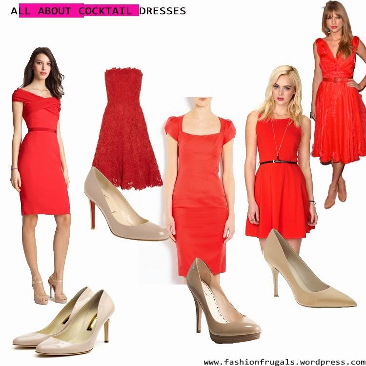 Фото с чем одеть красное платье