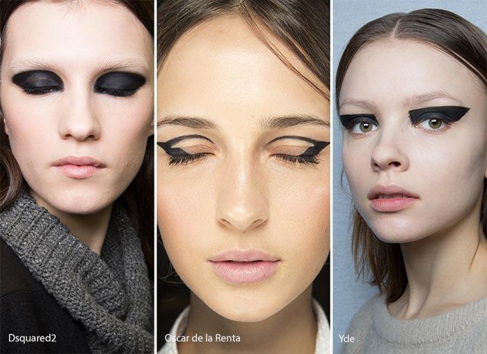 Модный макияж глаз 2017