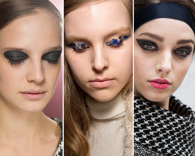 Модные макияж с