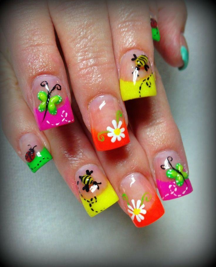дизайн ногтей фото 2015 новинка летний