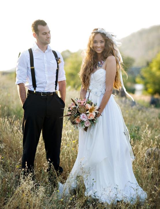 Свадьба в простом стиле