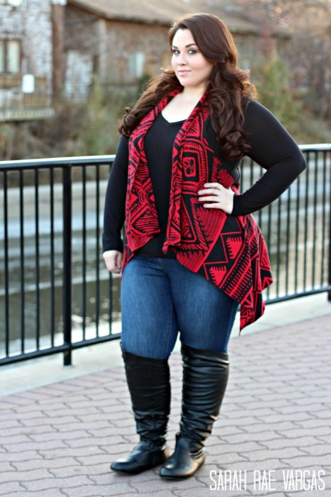 Мода осеньзима 2017 для полных Одежда для крупных женщин