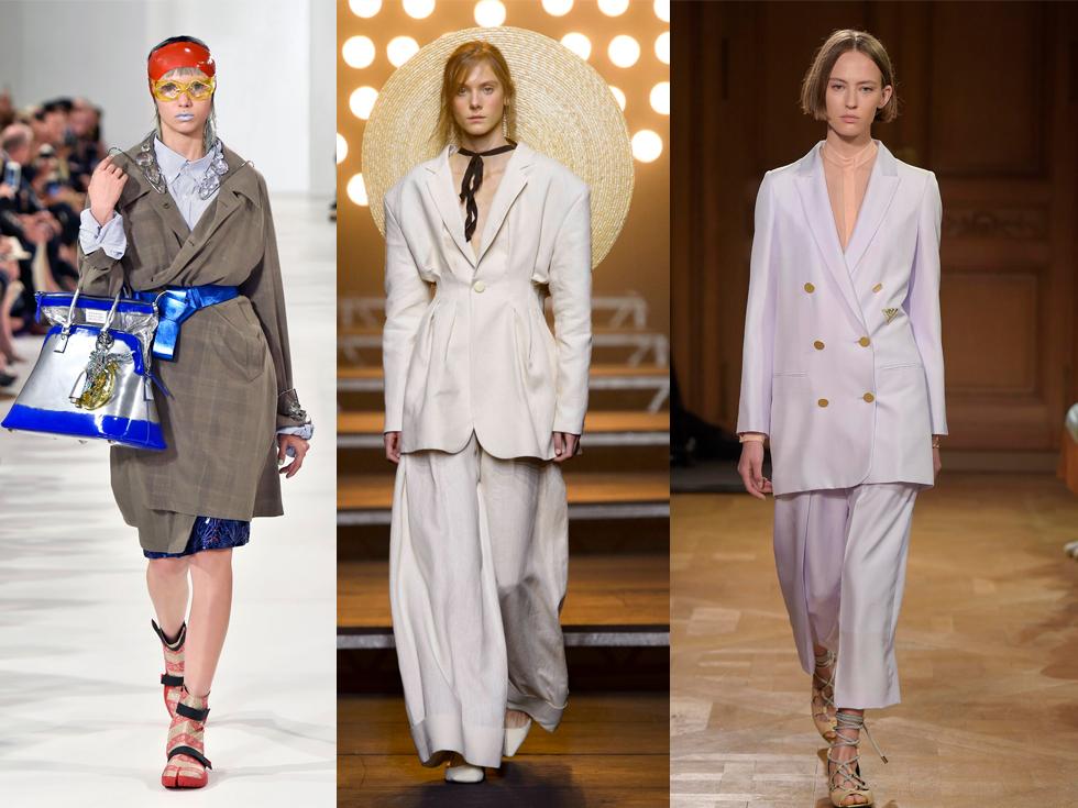 Мода 2017 брюки с платьем