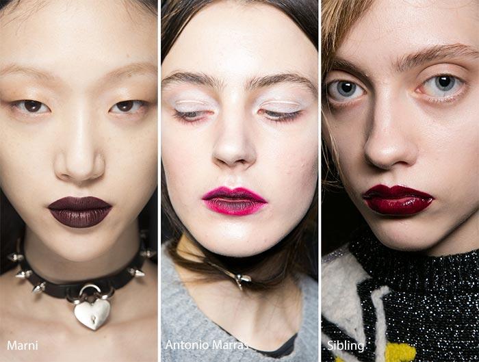 Картинки по запросу модный макияж губ 2017