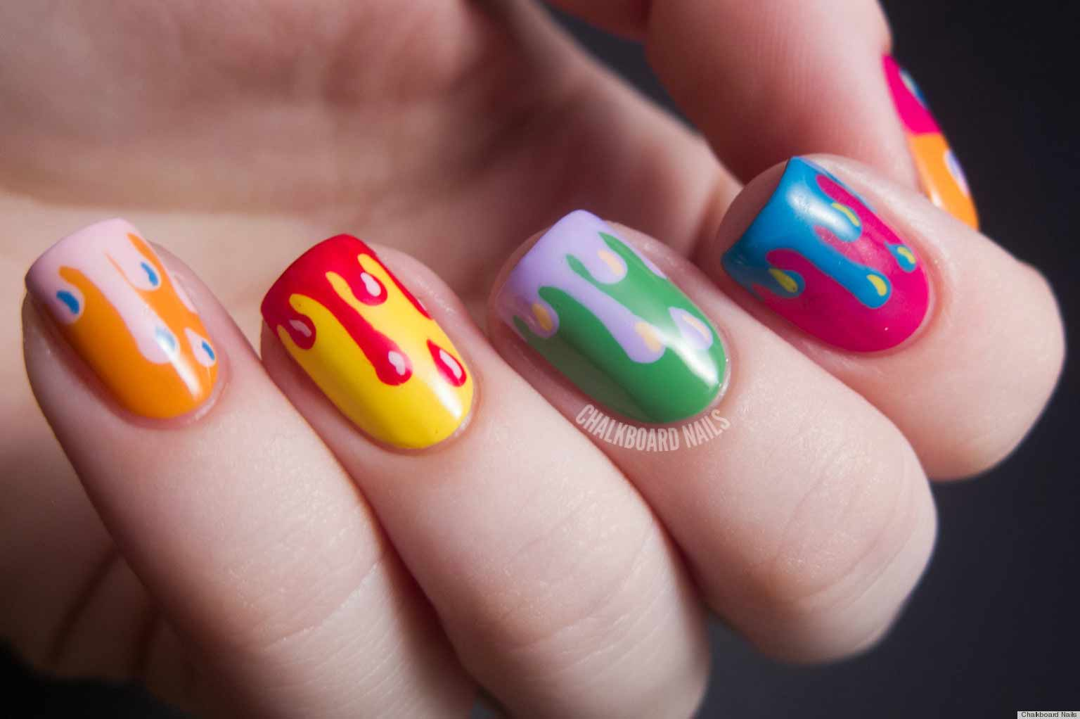 Модные ногти 25 года, модный маникюр 25, дизайн ногтей 25